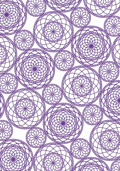"overlay ""mandala background"" 21х29,7 сm"