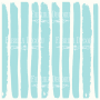 "deco vellum colored sheet blue and white stripes 11.5""x11.5"""