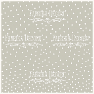 "deco vellum colored sheet ""peas on gray"""