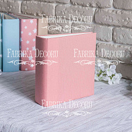 Blank album with a soft fabric cover English rose 20cm х 20cm