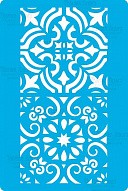 "Stencil for crafts 15x20cm ""Ornament border 1"" #324"