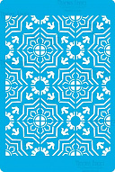 "Stencil for crafts 15x20cm ""Byzantine background style"" #320"
