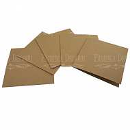 set of blanks for creating cards 15х15 см craft