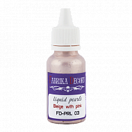 Liquid pearls Beige with pink 40 ml